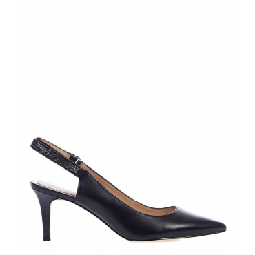 Kitten Sling Pumps nero