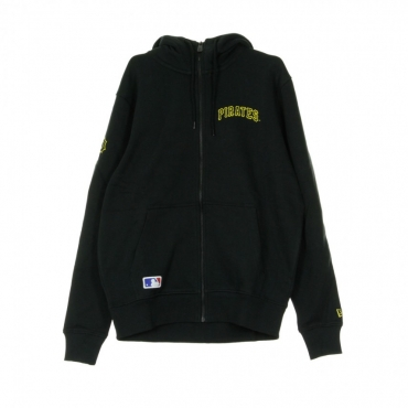 FELPA CAPPUCCIO ZIP TEAM APPAREL SCRIPT FZ HOODY PITPIR BLACK/ORIGINAL TEAM COLORS