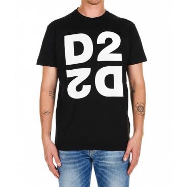 T-shirt D2 nero
