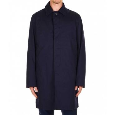 Cappotto classico blu scuro