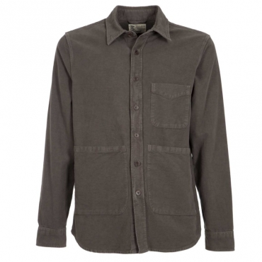 Camicia Utility tinta in capo 85130