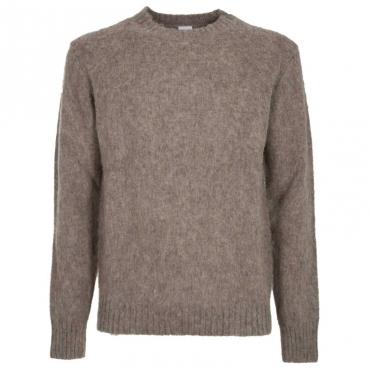 Maglione girocollo in lana 01087