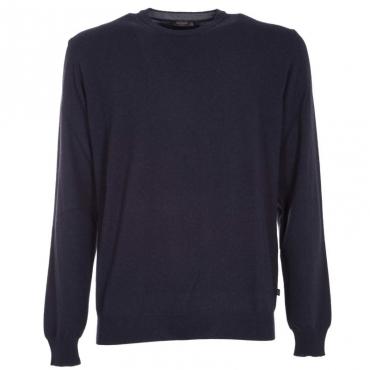 Maglione girocollo in lana merino 08
