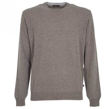 Maglione girocollo in lana merino 110