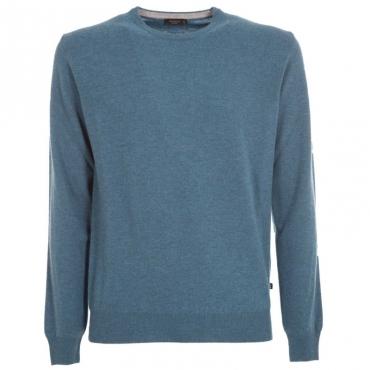 Maglione girocollo in lana merino 440
