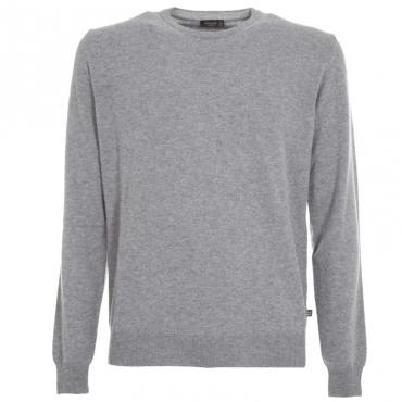 Maglione girocollo in lana merino 15