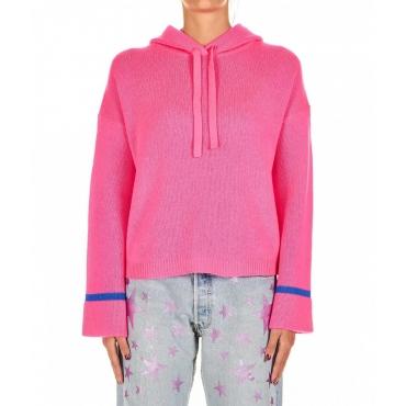 Strick-Hoodie Maxine Pink