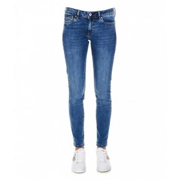 Skinny jeans Pixie blu scuro