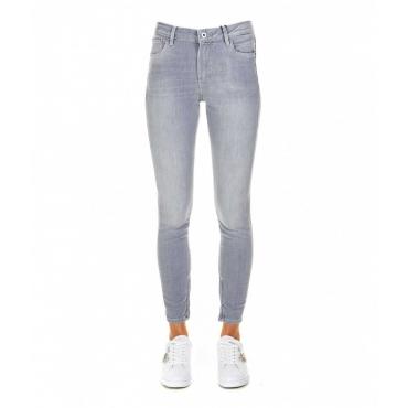 Skinny jeans Cher High grigio chiaro