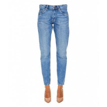 Mom jeans Mable azzurro