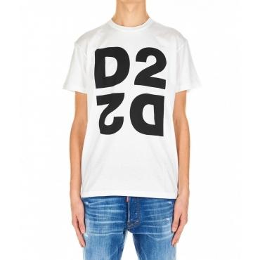 T-shirt D2 bianco