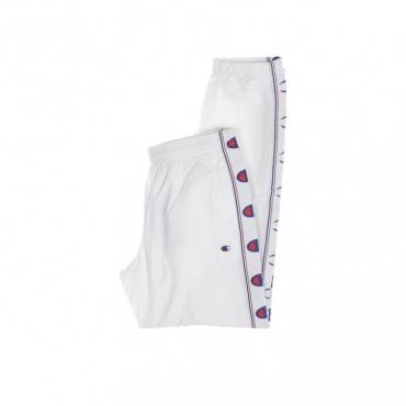 PANTALONE TUTA ELASTIC CUFF PANTS WHITE