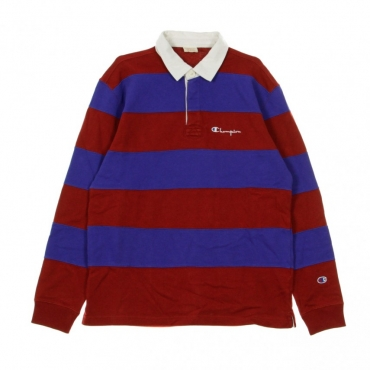 POLO MANICA LUNGA L/S POLO RED/BLUE