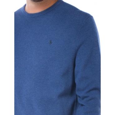 Ralph Lauren Maglia Girocollo Uomo Blu