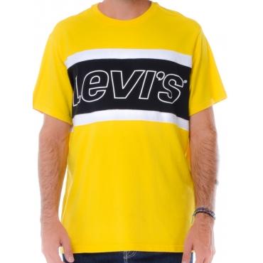 Levis T Shirt Manica Corta Uomo Beige