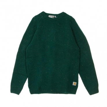 MAGLIONE ANGLISTIC SWEATER DARK FIR HEATHER