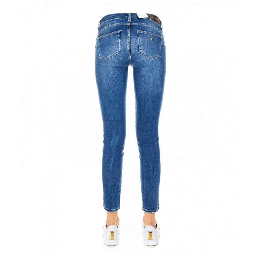 Skinny jeans Ultra Curve blu