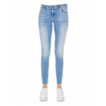 Skinny jeans Annette azzurro