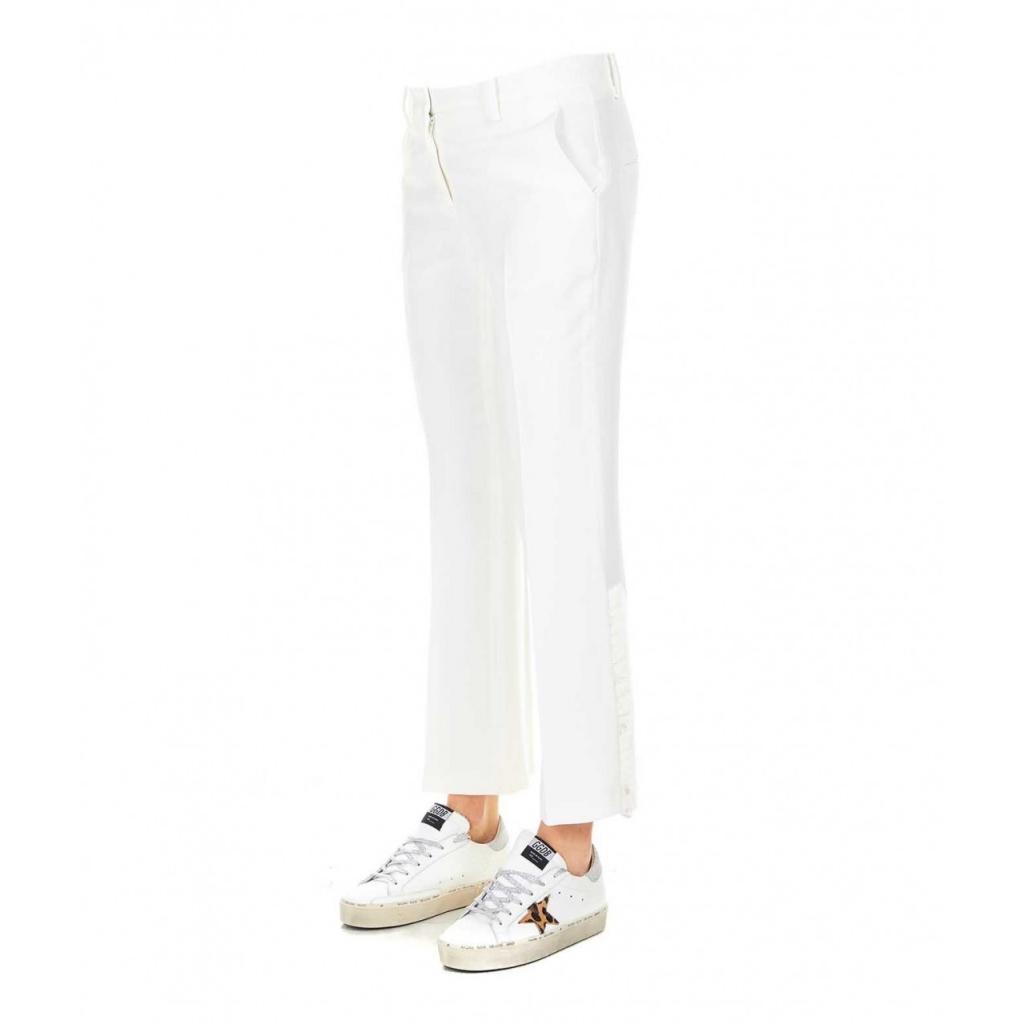 Pantalone cropped bianco