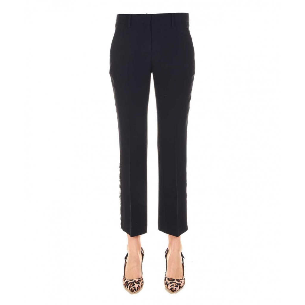 Pantalone cropped nero