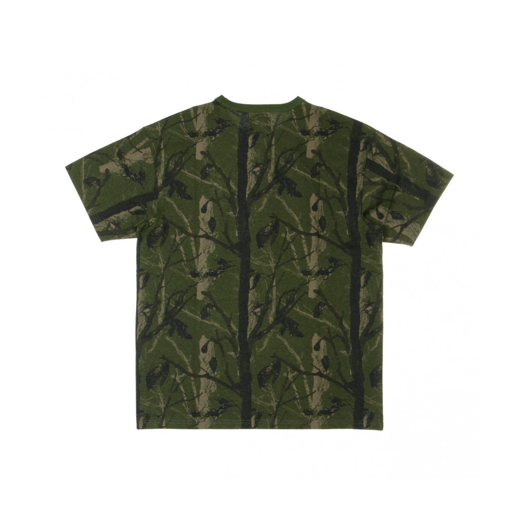 MAGLIETTA MILITARY TEE CAMO TREE/GREEN