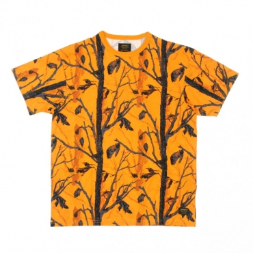 MAGLIETTA MILITARY TEE CAMO TREE/ORANGE