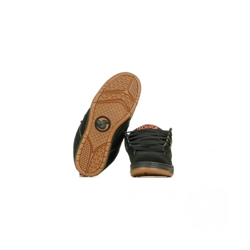 SCARPE SKATE COMANCHE BLACK/OLIVE/GUM/NUBUCK