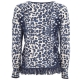Pullover in viscosa con frange MAC1