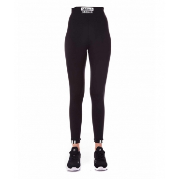 Legging in materiale tecnico nero