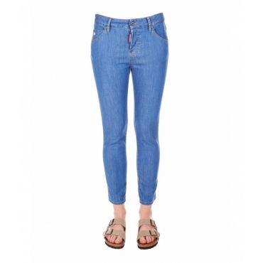 Cool Girl Jean azzurro