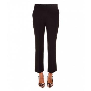 Pantalone flared nero