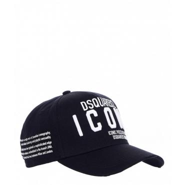 Cappello ICON con applicazioni bianco