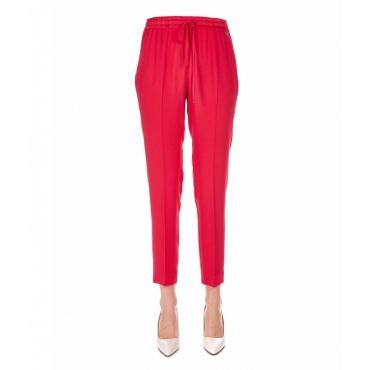 Pantalone jogging elegante rosso