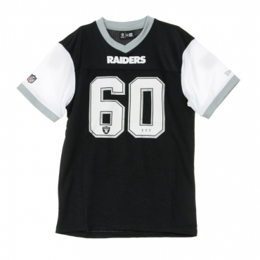 CASACCA NFL TRI-COLOUR TEE OAKRAI BLACK/WHITE