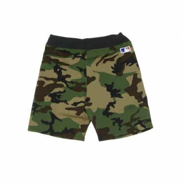 PANTALONE CORTO TUTA TEAM APPAREL FT SHORT LOSDOD WOODLAND CAMO/BLACK