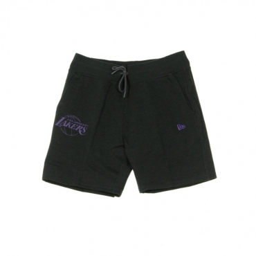 PANTALONE CORTO TUTA NBA TEAM APPAREL POP LOGO SHORT LOSLAK HEATHER GRAPHITE/ORIGINAL TEAM COLORS