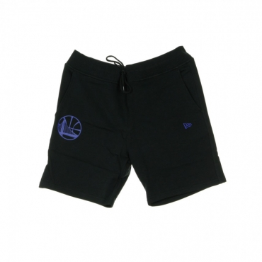 PANTALONE CORTO TUTA NBA TEAM APPAREL POP LOGO SHORT GOLWAR BLACK/ORIGINAL TEAM COLORS