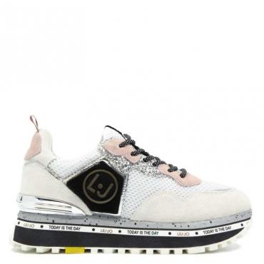 Sneakers Maxi Alexa Running con logo 01111WHITE