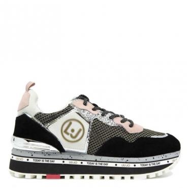 Sneakers Maxi Alexa Running con logo 22222BLACK