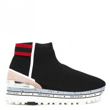 Sneakers Maxi Alexa 4 Elastic Sock 22222BLACK