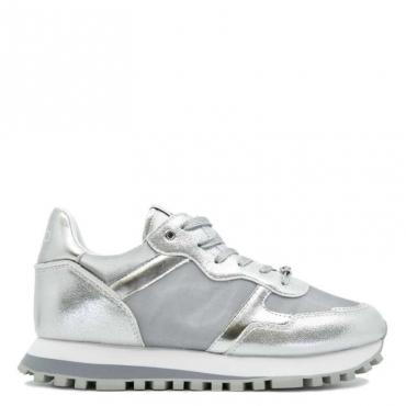 Sneakers Wonder 20 metallizzate 00532SILVER
