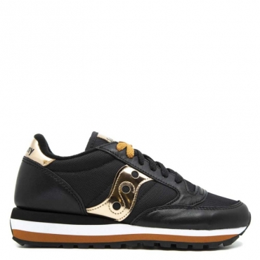 Shoes S60425 jazz triple limited 02 Black gold stars