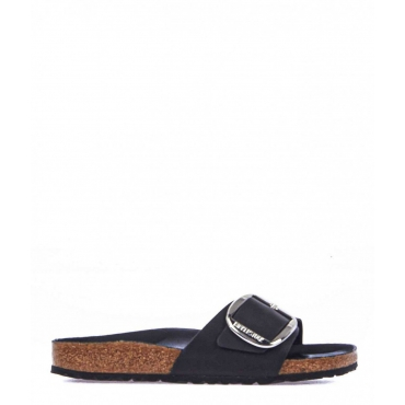 Slides Madrid Big Buckle nero