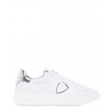Sneaker Temple S argento