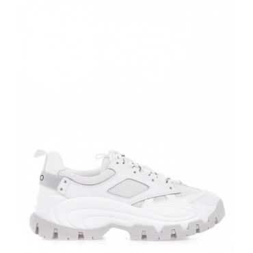 Chunky sneaker Wave bianco