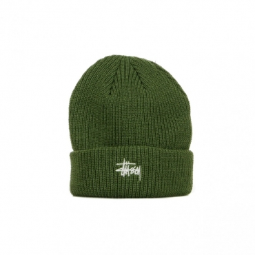 CAPPELLO INVERNALE BASIC CUFF BEANIE OLIVE