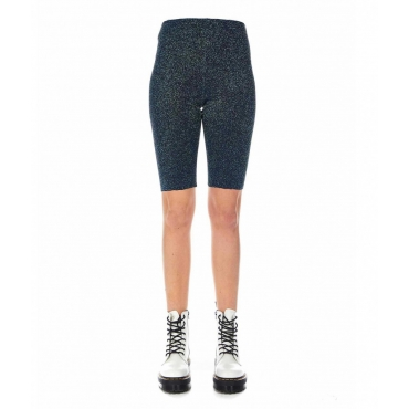 Biker shorts blu