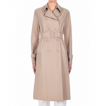 Trench coat Light technic nude