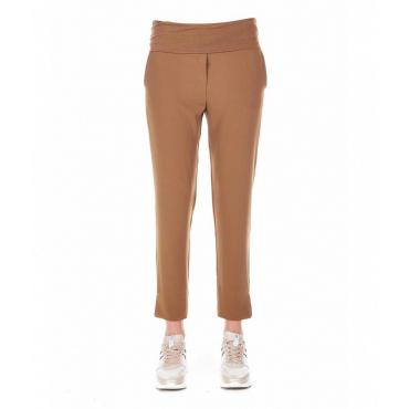 Pantalone jogging Tess marrone chiaro