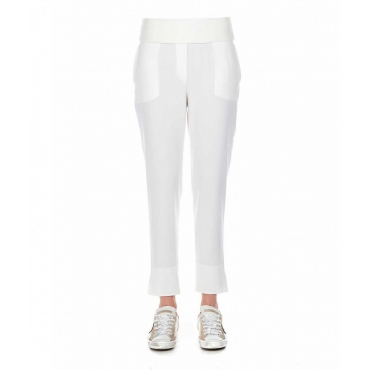 Pantalone jogging Tess bianco